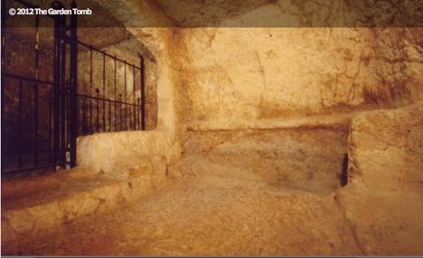 Tomb interior