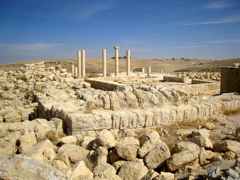 Machaerus columns