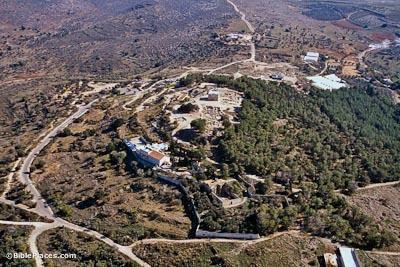 Sepphoris Aerial Photo