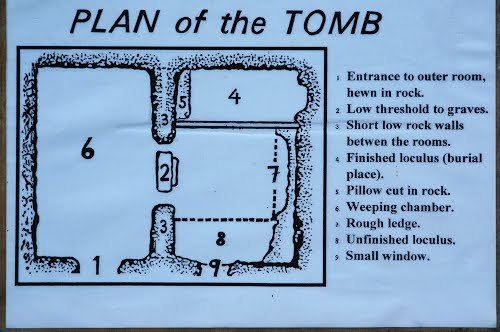 Plan of the Tomb
