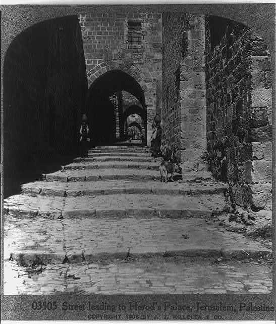 Herod's pathway